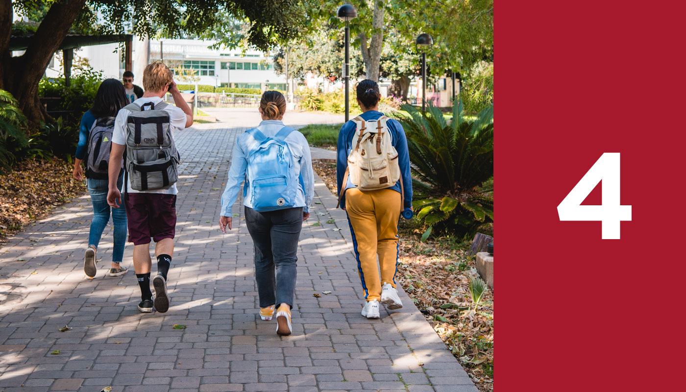 SBCC's steps to enrollment, step four